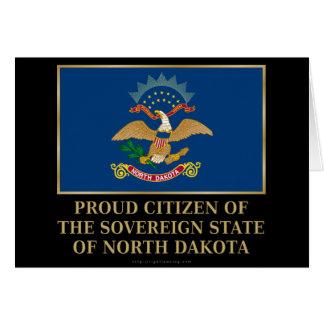 Proud Citizen of North Dakota Card