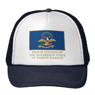 Proud Citizen of North Dakota Trucker Hats