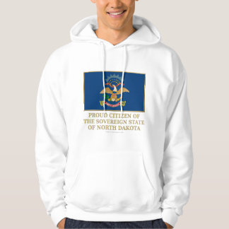 Proud Citizen of North Dakota Hoodie