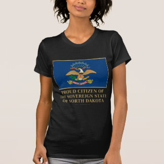 Proud Citizen of North Dakota T Shirt