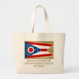 Proud Citizen of  Ohio Canvas Bags