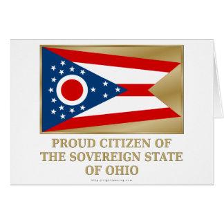 Proud Citizen of  Ohio Greeting Card