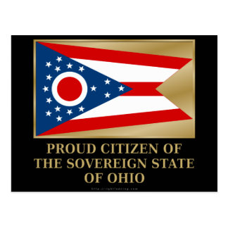 Proud Citizen of  Ohio Postcard