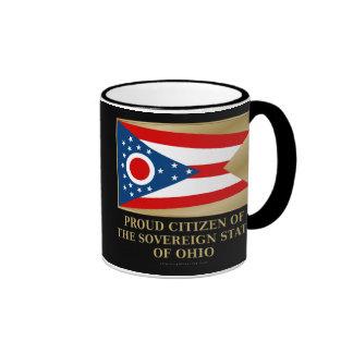 Proud Citizen of  Ohio Ringer Coffee Mug