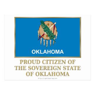 Proud Citizen of  Oklahoma Postcard