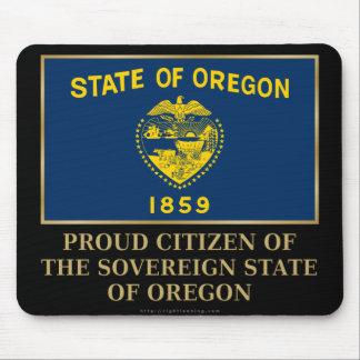 Proud Citizen of  Oregon Mousepad