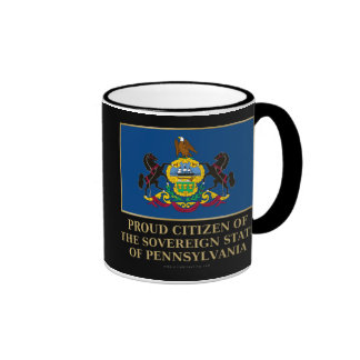 Proud Citizen of Pennsylvania Coffee Mugs
