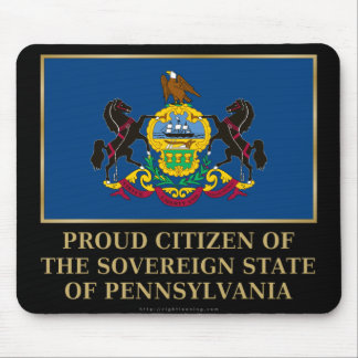 Proud Citizen of Pennsylvania Mouse Pad
