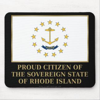 Proud Citizen of Rhode Island Mouse Pad