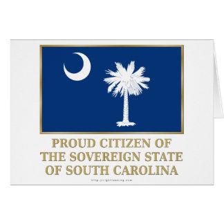 Proud Citizen of South Carolina Card