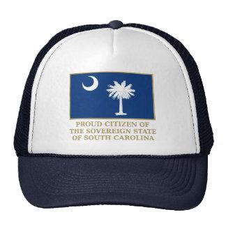 Proud Citizen of South Carolina Mesh Hat