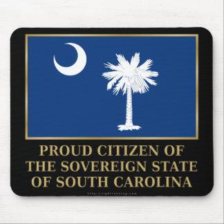 Proud Citizen of South Carolina Mouse Pad