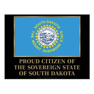 Proud Citizen of South Dakota Postcard
