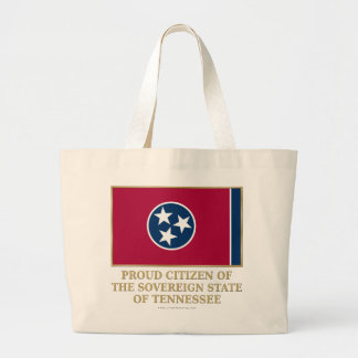 Proud Citizen of Tennessee Canvas Bag