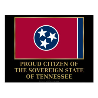 Proud Citizen of Tennessee Postcard