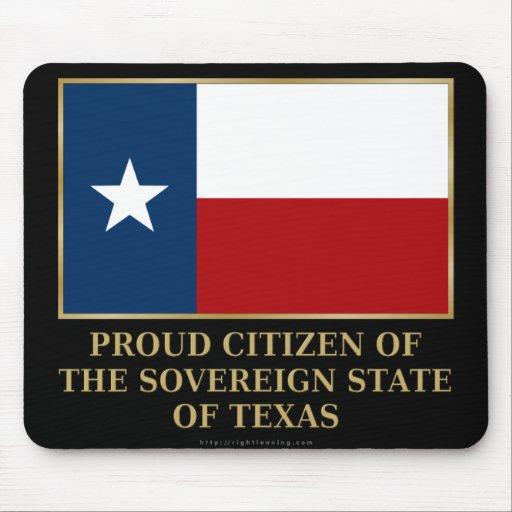 Proud Citizen of Texas Mouse Pad