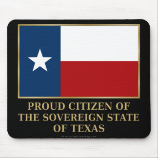 Proud Citizen of Texas Mouse Pads