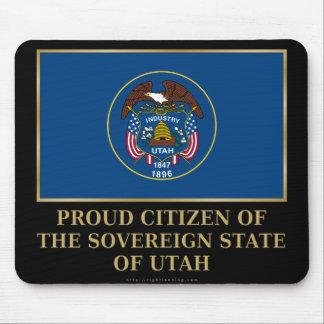Proud Citizen of Utah Mousepads