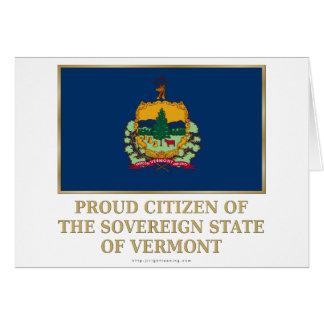 Proud Citizen of Vermont Card