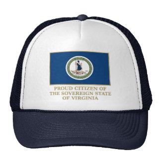Proud Citizen of Virginia Mesh Hat