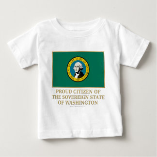 Proud Citizen of Washington Infant T-shirt