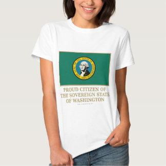 Proud Citizen of Washington T Shirt