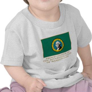 Proud Citizen of Washington Tee Shirt