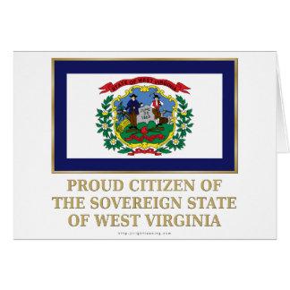 Proud Citizen of West Virginia Card