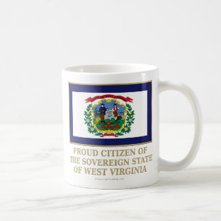 Proud Citizen of West Virginia Mugs