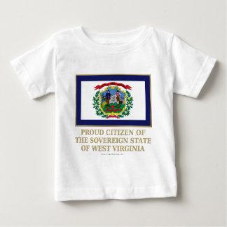 Proud Citizen of West Virginia Shirt