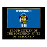 Proud Citizen of Wisconsin Post Cards