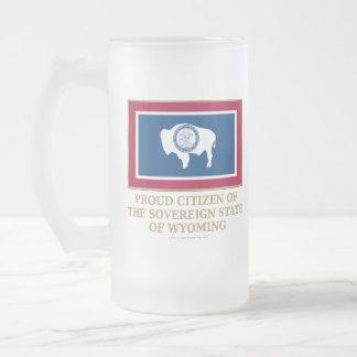 Proud Citizen of Wyoming Coffee Mugs