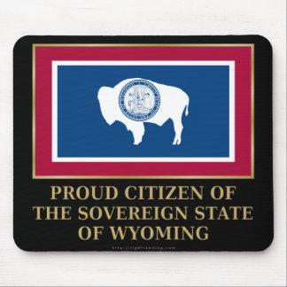 Proud Citizen of Wyoming Mousepad