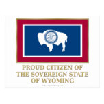 Proud Citizen of Wyoming Post Cards