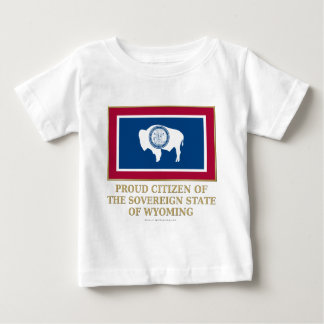 Proud Citizen of Wyoming T Shirt