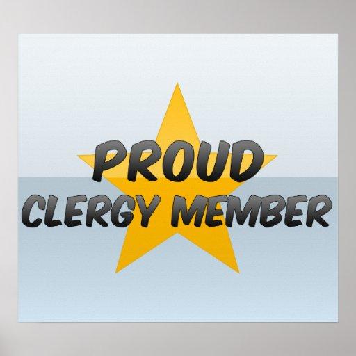 Proud Clergy Member Print