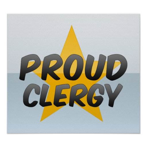 Proud Clergy Print