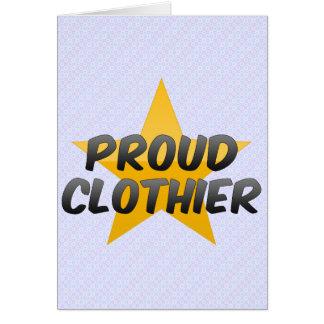 Proud Clothier Card