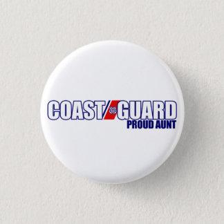 Proud Coast Guard Aunt Pinback Button