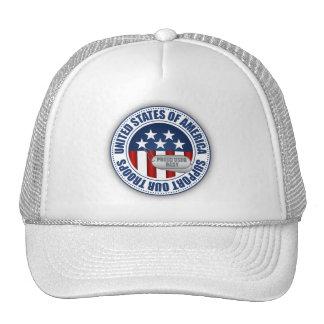 Proud Coast Guard Baby Mesh Hat