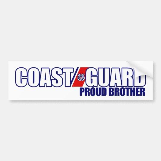 Proud Coast Guard Brother Bumper Sticker