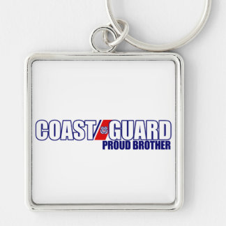 Proud Coast Guard Brother Key Chains