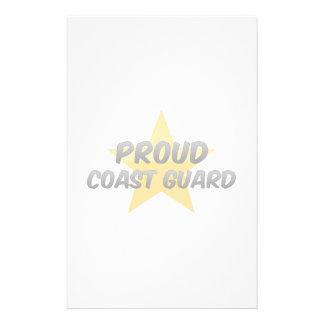Proud Coast Guard Custom Stationery