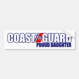 Proud Coast Guard Daughter Car Bumper Sticker