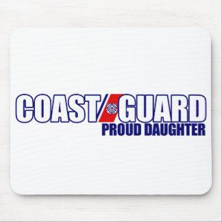 Proud Coast Guard Daughter Mouse Pad