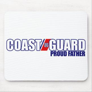 Proud Coast Guard Father Mousepad