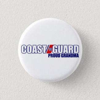 Proud Coast Guard Grandma Button