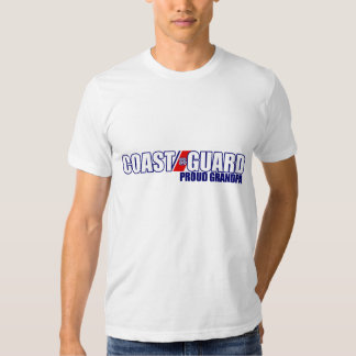 Proud Coast Guard Grandpa T Shirt