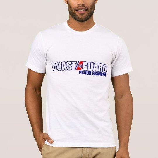Proud Coast Guard Grandpa T-Shirt