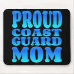 Proud Coast Guard Mom Mouse Pad
